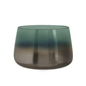 Vaza din sticla PT LIVING Oiled, inaltime 10 cm, verde