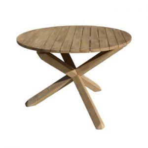 Masa de gradina din lemn de acacia ADDU Melfort, ⌀ 110 cm