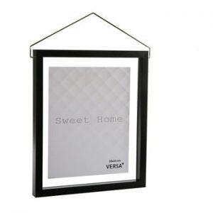 Rama foto suspendata VERSA, pentru fotografii 20 x 25 cm, negru