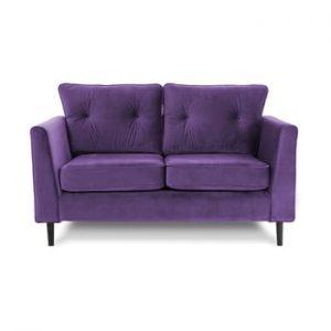 Canapea cu doua locuri VIVONITA Portobello, mov