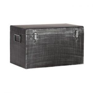 Cutie metalica pentru depozitare LABEL51, lungime 40cm, negru