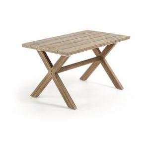 Masa din lemn de eucalipt La Forma Brilliant, 80 x 140 cm
