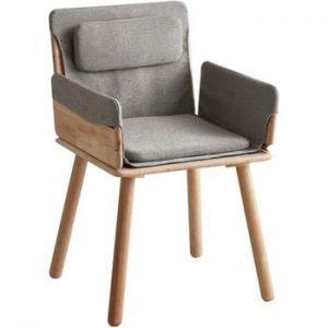 Scaun cu sezut textil si cotiere DEEP Furniture Jack