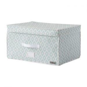 Cutie pentru depozitare Compactor, alb - verde