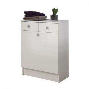 Dulap baie pentru rufe TemaHome Combi, latime60cm, alb