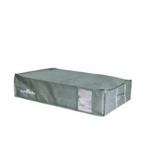 Cutie de depozitare cu vid sub pat Compactor Green Edition, 145 l