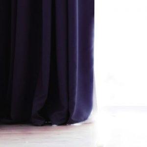 Draperie DecoKing Pierre, 140 x 270 cm, gri inchis