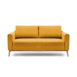 Canapea pentru 3 persoane Vivonita Milton, galben mustar