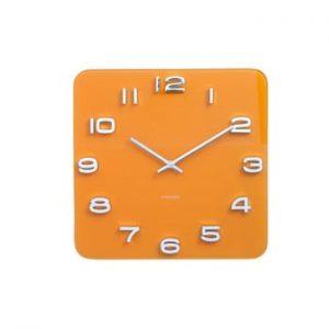 Ceas Karlsson Vintage, 35 x 35 cm, portocaliu