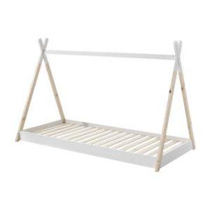 Patut pentru copil Vipack Tipi, 90 x 200 cm, alb