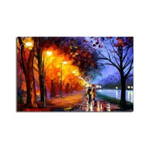 Tablou pe panza Fall Walk, 70 x 45 cm