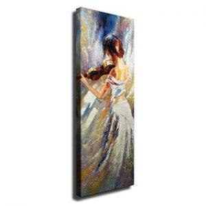 Tablou pe panza Violin Player, 30 x 80 cm