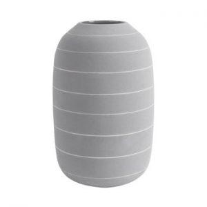 Vaza din ceramica PT LIVING Terra, ⌀ 16 cm, gri deschis