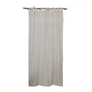 Draperie Linen Cuture Cortina Hogar Grey Marine Stripes, gri