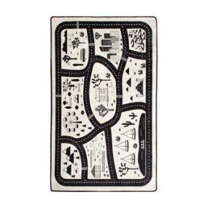 Covor copii Black City, 100 x 160 cm
