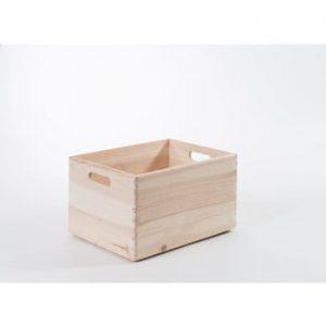 Cutie depozitare din lemn Compactor Custom, 40 x 30 x 23 cm
