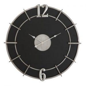 Ceas de perete Mauro Ferretti Glam, ø60cm, negru