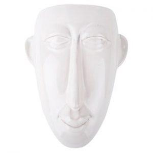 Ghiveci de perete PT LIVING Mask, 17,5x22,4cm, alb