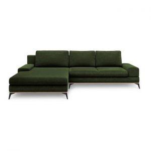 Coltar extensibil Windsor & Co Sofas Planet, pe partea stanga, verde