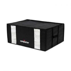 Cutie depozitare cu vacuum Compactor Black Edition, capacitate 210 l, negru