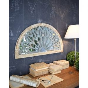 Oglinda din lemn de brad Orchidea Milano Palais Royale, 73 x 40 cm