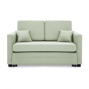 Canapea extensibila, 2 locuri, Vivonita Brent, verde menta