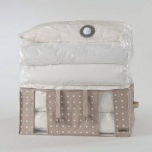 Cutie depozitare cu sac vid Compactor Rivoli, latime 65 cm, bej