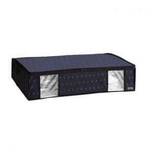 Cutie de depozitare cu vid sub pat Compactor Kasuri, 145 l, negru
