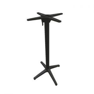 Picior pentru masa de gradina Ezeis Rotonde, inaltime 105 cm, gri inchis