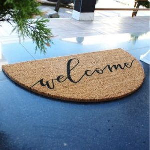 Pres Doormat Welcome, 70 x 40 cm