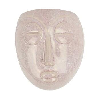 Ghiveci de perete PT LIVING Mask, 16,5x17,5cm, roz