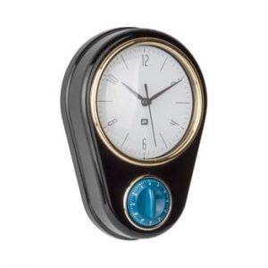 Ceas si cronometru pentru bucatarie PT LIVING, negru