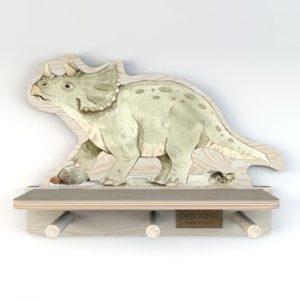 Raft de perete Dekornik, dinozaur