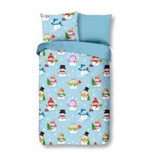 Lenjerie de pat din flanel pentru copii Good Morning Dreamland, 140 x 200 cm