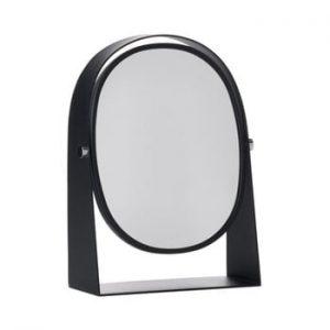 Oglinda pentru masa de toaleta Zone Parro, negru