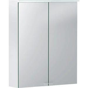 Dulap cu oglinda suspendat Geberit Option Basic alb mat 56 cm