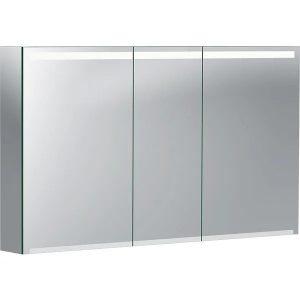 Dulap cu oglinda suspendat Geberit Option reflectorizant 3 usi 120 cm