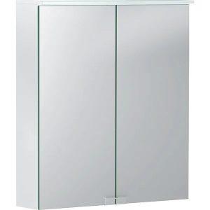 Dulap cu oglinda suspendat Geberit Option Basic alb mat 60 cm
