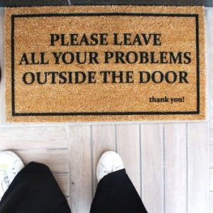 Pres Doormat Problems, 70 x 40 cm