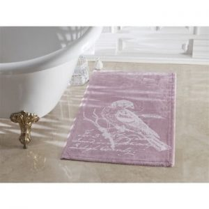 Covoras de baie Confetti Bathmats Cuckoo Dark and Light Lilac, 70 x 120 cm, mov