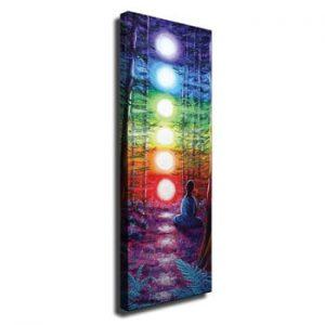 Tablou pe panza Lights, 30 x 80 cm