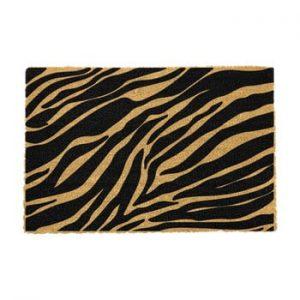 Covoras intrare din fibre de cocos Artsy Doormats Zebra, 40 x 60 cm