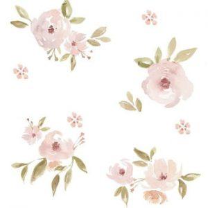 Set autocolante de perete Dekornik Magnolias