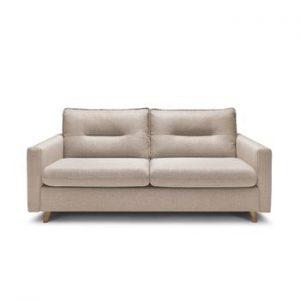 Canapea extensibila cu 3 locuri Bobochic Paris Sinki, bej