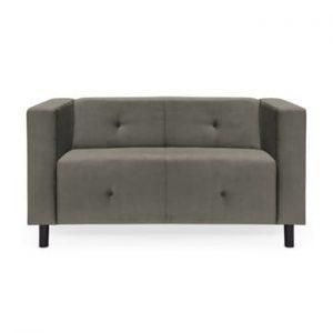 Canapea cu 2 locuri Vivonita Milo, gri