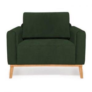 Fotoliu Vivonita Milton Trend, verde inchis