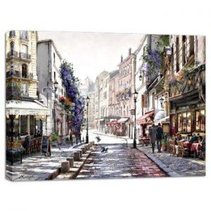 Tablou Styler Canvas Watercolor Paris II, 75 x 100 cm