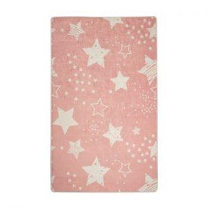 Covor copii Pink Stars, 100 x 160 cm