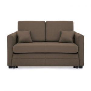 Canapea extensibila, 2 locuri, Vivonita Brent, maro