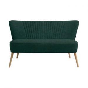 Canapea cu 2 locuri Custom Form Harry, verde inchis